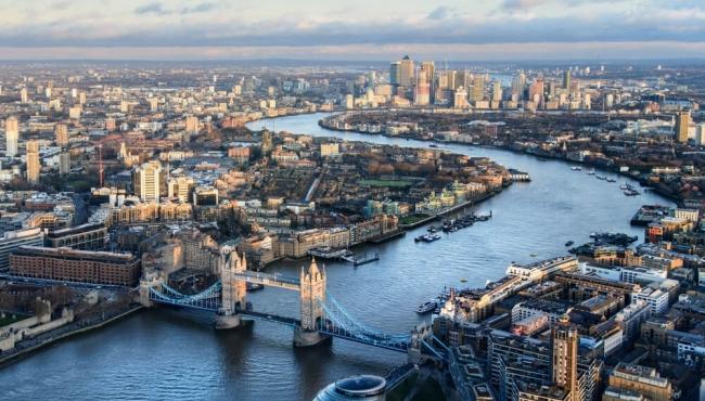 City of London Birdseye view