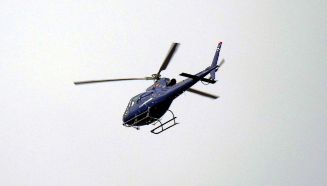 Helicopter Flying