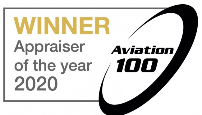 Award winning Aviation Consultancy IBA Group crowned 'Appraiser of the Year' for the second time in three years at the Aviation 100 Awards in Dublin