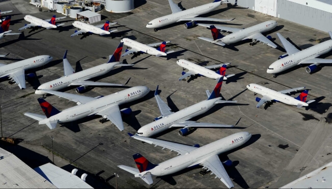 IBA Forecast Fall In Aircraft Rental And Maintenance Receipts As 60% Of ABS Fleet Grounded